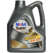 Моторное масло MOBIL Super 3000 5W-40 4 л
